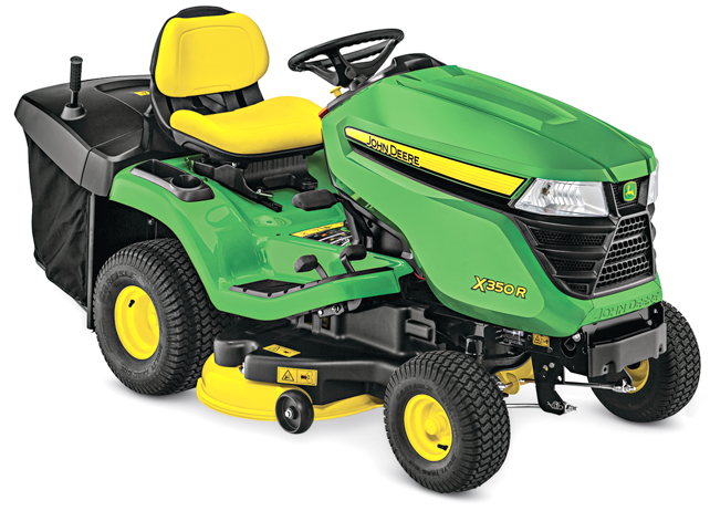 x300 select series lawn tractor x350r john deere us. Black Bedroom Furniture Sets. Home Design Ideas