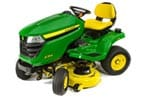 Follow link to the X354 Tractor, 42-inch deck product page.
