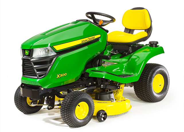 john deere x300 with 42 in deck lawn tractor. Black Bedroom Furniture Sets. Home Design Ideas