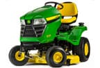 Follow link to the X330 Tractor, 42-inch deck product page.