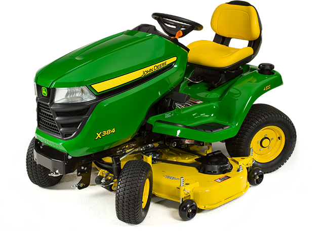 X384 Tractor with 48-inch Deck (2016)