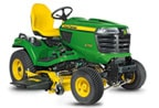 Follow link to the X754 Signature Series 4-Wheel Steer Tractor, Less Mower Deck product page.