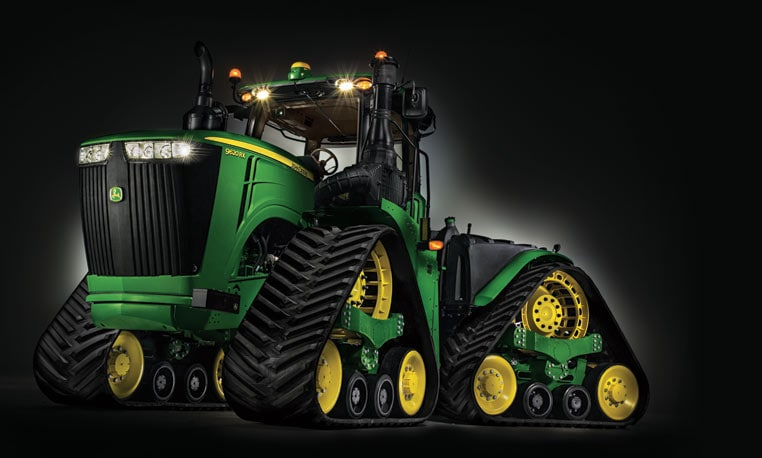 studio image of 9RX Series Tractor