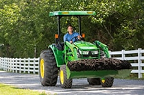 Follow the link to view Parts and Attachments for compact tractors.