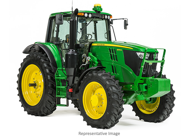 Studio image of a 6175M tractor
