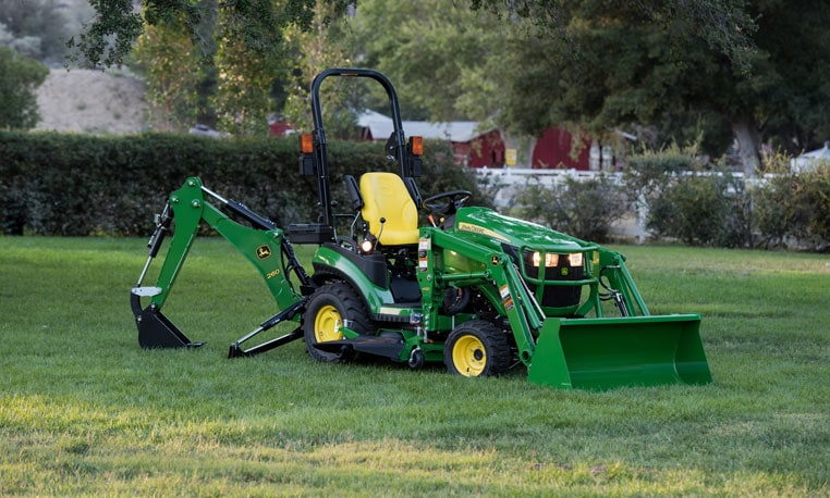 John Deere Compact Tractor Attachments : Family sub compact tractors john deere us