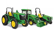 Follow link to small tractor product selector