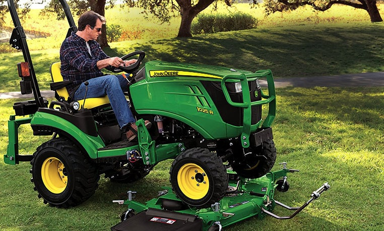 John Deere Compact Tractor Attachments : Compare john deere compact to mahindra autos post