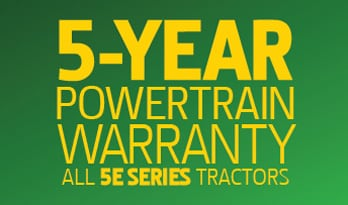 5 Year Warranty Graphic