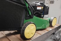 John Deere vibration test