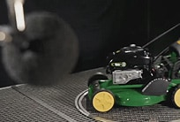John Deere sound measurement test