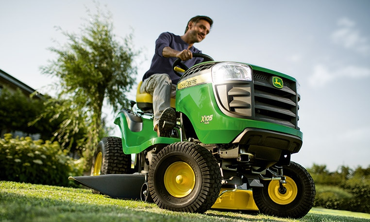 X105 Riding Lawn Equipment