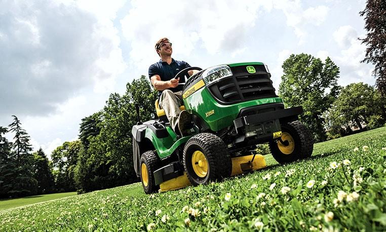 X135R Riding Lawn Equipment