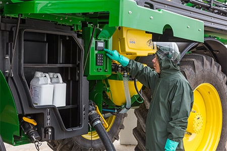 Perfect Control for Precise Spraying