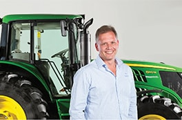 Jacques Taylor, Managing Director John Deere Financial – Sub-Saharan Africa
